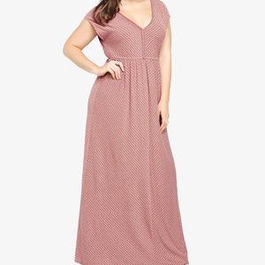 ☀️50% OFF SALE☀️ Torrid Striped Maxi Dress